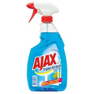 Nettoyant vitres Ajax Triple Action - spray de 750 ml