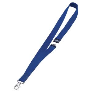 Lacets textile Durable 44cm avec ferm. de sécurité, bleu,emb. 10 pces. (8137-07)