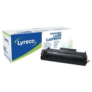 Cartouche laser remanufacturée Lyreco pour HP 1010 noire