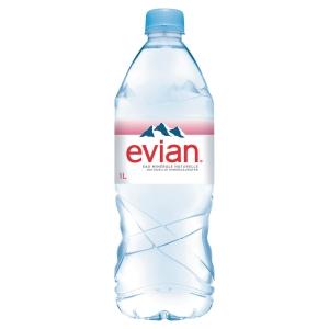 Carton 12 bouteilles d eau evian 1 litre