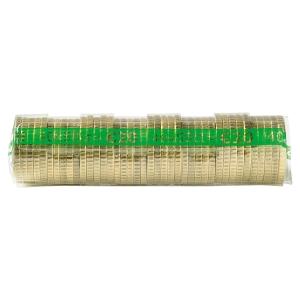 PAQUET DE 250 ETUIS A MONNAIE PVC TRANSPARENT REUTILISABLES 50 CENTIMES D EURO