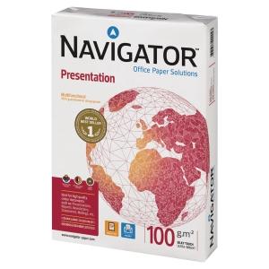Papier blanc A3 Navigator Presentation - 100 g - ramette de 500 feuilles