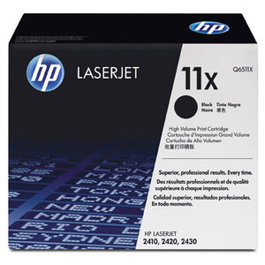 Cartouche laser HP Q6511X noire haute capacité