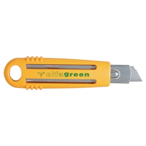 CUTTER DE SECURITE OLFA SK4 GREEN POUR AMBIDEXTRE LAME DE 18 MM