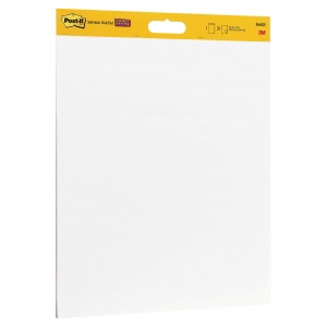 LOT DE 2 TABLEAUX MURAUX AUTOCOLLANTS POST-IT SUPERSTICKY 20 FEUILLES