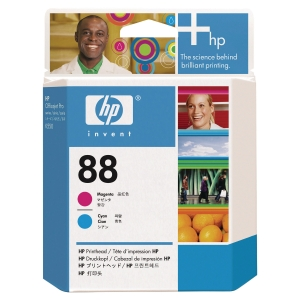 TETE D IMPRESSION ORIGINALE HP OFFICEJET K550 CYAN/MAGENTA HP88 C9382A