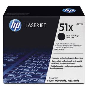 Cartouche laser HP Q7551X noire haute capacité