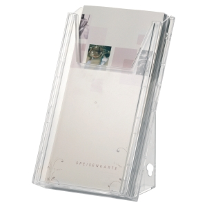 présentoir de bureau multifonctions combiboxx Durable 1/3 A4