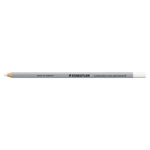 Crayon de laboratoire Staedtler Lumocolor omnichrome - blanc - boîte de 12