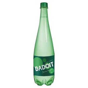 Eau gazeuse Badoit verte 1 L - pack de 6 bouteilles