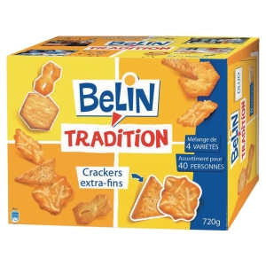 BOITE DE 720 G D ASSORTIMENT DE BISCUITS SALES BELIN