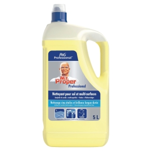 Bidon 5l nettoyant mr propre multisurface senteur citron