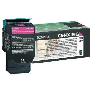 CARTOUCHE LASER LEXMARK C544/X544 TRES HAUTE CAPACITE MAGENTA C544X1MG
