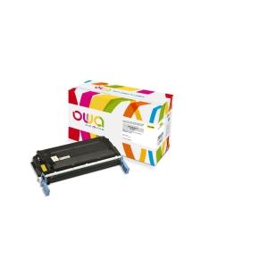 Cartouche de toner Owa compatible équivalent HP 641A - C9722A - jaune