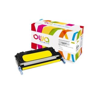 Cartouche de toner Owa compatible équivalent HP 503A - Q7582A - jaune