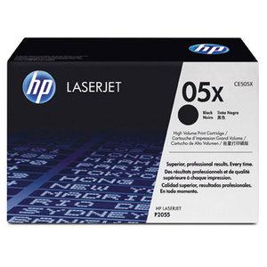 CARTOUCHE LASER ORIGINALE HP LASERJET P2055 HAUTE CAPACITE NOIRE CE505X