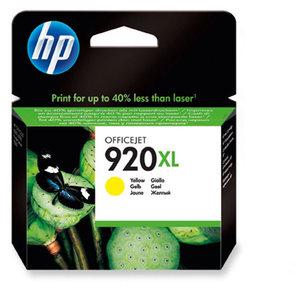 Cartouche d encre HP 920XL - CD974AE - jaune