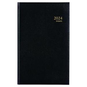 Agenda banque 1 volume format large 18 x 29 cm couverture noire