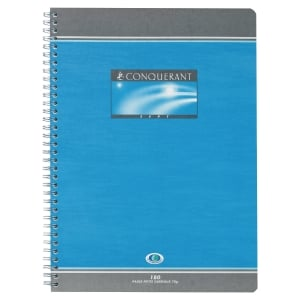 CAHIER SPIRALE INTEGRALE CONQUERANT A4 70G 100 PAGES SEYES NF