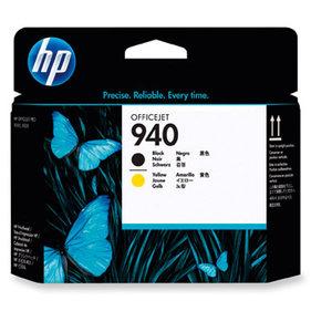 Tete d impression HP n°940 noire/jaune