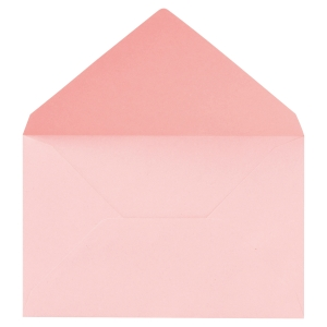 Boite 1000 enveloppes administratives election 90x140mm 64g rose