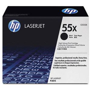 Cartouche laser HP CE255X noire haute capacité