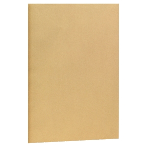 Boite 500 pochettes sans soufflet sans fenetre c5 kraft 72g autcolllantes blond
