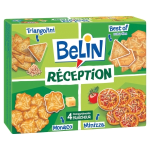 BOITE DE 380G D ASSORTIMENTS BISCUITS SALES BELIN