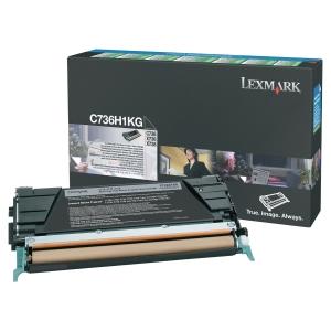 Cartouche de toner Lexmark C736H1KG - noire