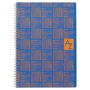 Carnet Répertoire spirale 180 pages 17 x 22 cm 70g quadrille 5x5
