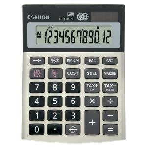 Calculatrice écologique Canon LS-120TSG 12 chiffres