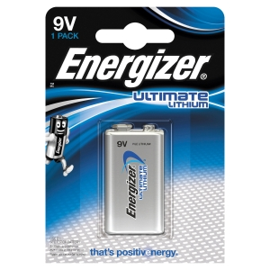 Pack de 1 pile L522 9V Energizer Ultimate Lithium 633287