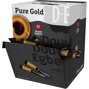 Boite distributrice de 200 sticks de café 1,5g douwe egbert pure gold