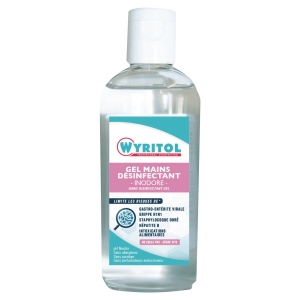 Gel hydro-alcoolique Wyritol - flacon de 100 ml