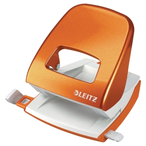 Perforateur Leitz 5008 wow 2 trous 30 feuilles orange metallise