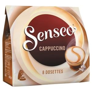 Paquet de 8 dosettes souples senseo cappuccino