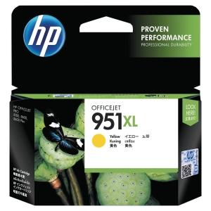 Cartouche d encre HP 951XL -CN048AE - jaune