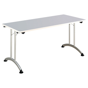 TABLE DE BUREAU PLIANTE BURONOMIC FINITION GRISE 70X140CM