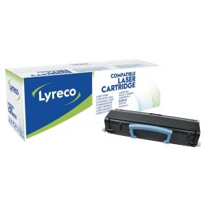 Cartouche laser remanufacturée Lyreco Haute capacité pour Lexmark e460 noir