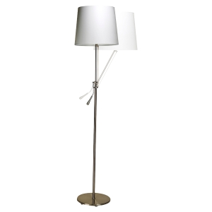 LAMPADAIRE LED INCLINEA UNILUX ABAT JOUR INCLINABLE DESIGN CONTEMPORAIN