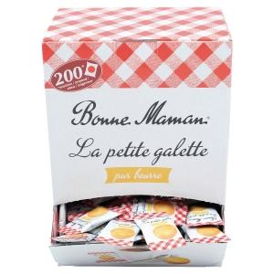 Boite de 200 petites galettes de tradition au beurre frais bonne maman