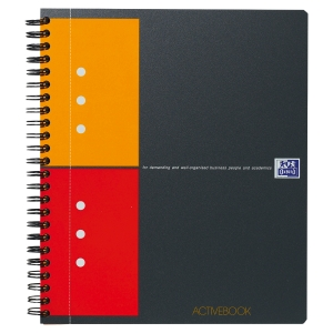 ACTIVEBOOK OXFORD INTERNATIONAL INTEGRALE A5+ QUADRILLE 5X5