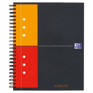 NOTEBOOK OXFORD INTERNATIONAL INTEGRALE A5+ QUADRILLE 5X5