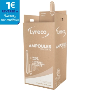 CONTAINER DE REPRISE D AMPOULES ET DE TUBES CONTENANCE 15 KG MAXIMUM