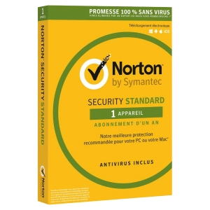 NORTON INTERNET ANTI VIRUS 1POSTE 1AN