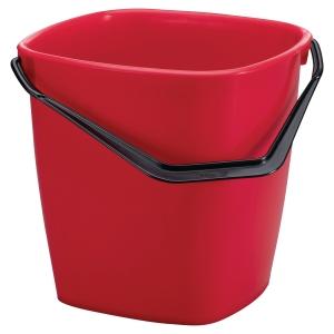 Seau de lavage Durable - 14 L - rouge