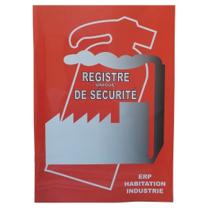 Registre de sécurité hy43 48 pages format A4