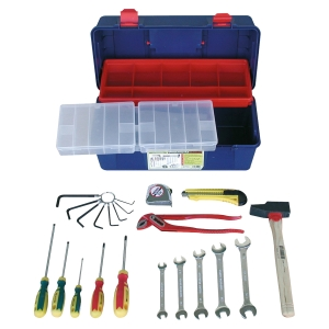 Caisse à outils Outilfrance - 22 pièces