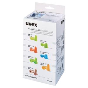 Boite de recharge de 300 paires de bouchons d oreilles Uvex com-4 Fit