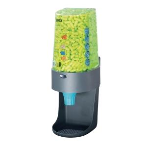 Uvex One 2 Click earplugs dispenser
